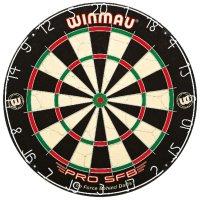 Winmau Steeldartboard PRO SFB, BRISTLE Steeldart Dartscheibe
