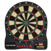 Carromco elektronisches Dartboard Raptor-301 4-Loch Abstand